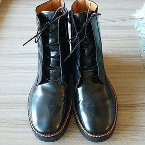 Maison Martin Margiela Teal Blue Boots - Sz 37.5EU
